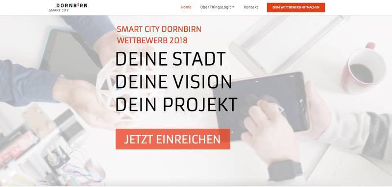 Smart City Dornbirn – Stadt startet Wettbewerb