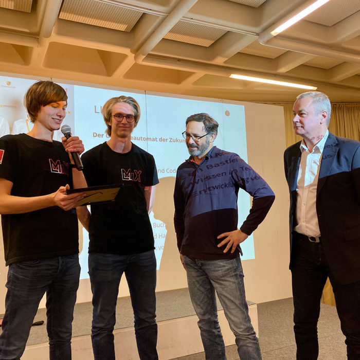 Präsentation der besten Smart City Ideen