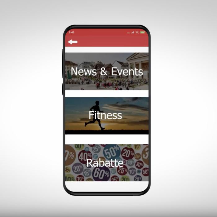 Wettbewerbsidee: Dornbirn City App