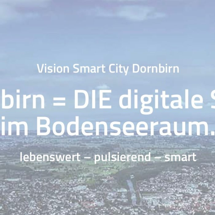 Digitalstrategie Smart City Dornbirn 2021 – 2023